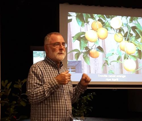 October - Bob Duncan of Fruit Trees and More On Growing Citrus and Subtropical Fruits