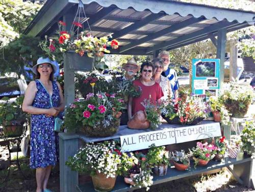 Hanging Baskets Sale To Support Church